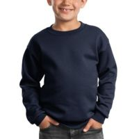 Youth Core Fleece Crewneck Sweatshirt Thumbnail