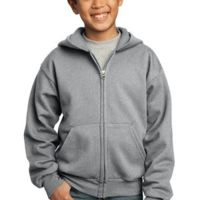 Youth Core Fleece Full Zip Hooded Sweatshirt Thumbnail