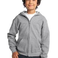Youth Heavy Blend™ Full Zip Hooded Sweatshirt Thumbnail