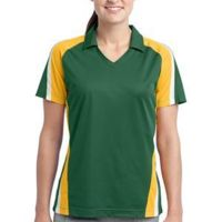 Ladies Tricolor Micropique Sport Wick®Polo Thumbnail